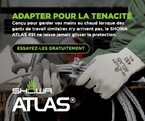 SHOWA - Atlas 451 - Gants de travail pour garder vos mains au chaud.