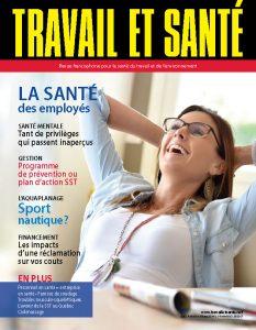 Revue Travail et santé : volume 35, numéro 2 - JUIN 2019 - Page couverture
