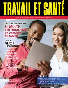 Revue Travail et santé : volume 35, numéro 3 - SEPTEMBRE 2019 - Page couverture