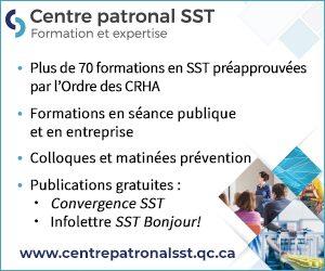 Centre Patronal SST|Formation et expertise|CRHA|70 formations en SST