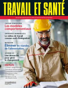 Revue Travail et santé : volume 36, numéro 1 - PRINTEMPS 2020 - Page couverture
