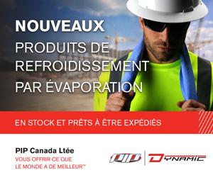 Solutions anti-insolation été chaleur heat stress summer PIP Canada